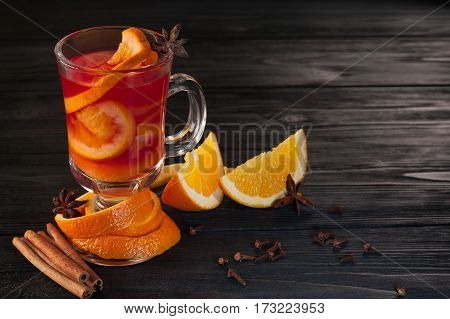 Hot Delicious Mulled Wine