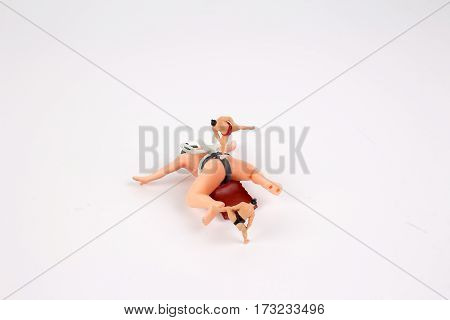 The Fun Figure Of Sumo Wrestler