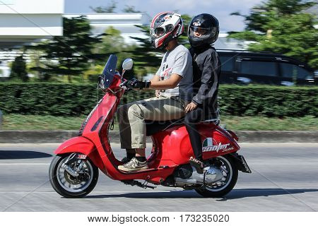 Private Scooter Motorcycle Vespa