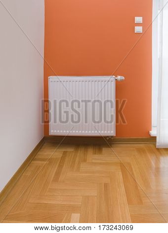 Room Detail with Thermal Radiator Heater