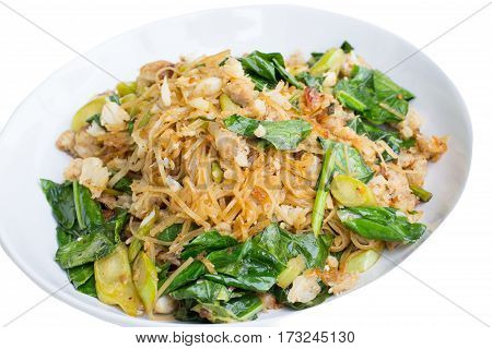 Thai fried popular noodle