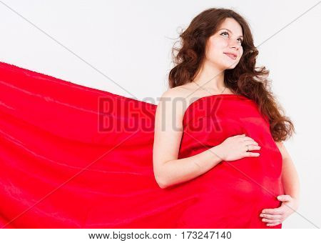 Pregnancy and Beauty Red Fantazy