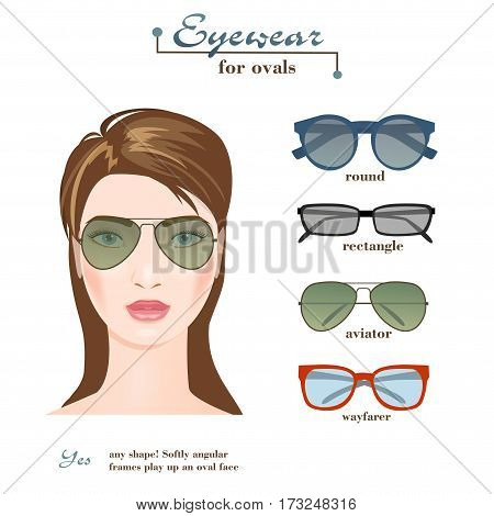 Womens Glasses Shapes Vector & Photo (Free Trial) | Bigstock