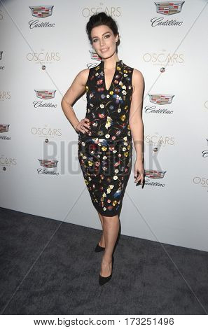 LOS ANGELES - FEB 23:  Jessica Pare at the Cadillac Hosts their Annual Oscar Week Soiree at the Chateau Marmont on February 23, 2017 in West Hollywood, CA