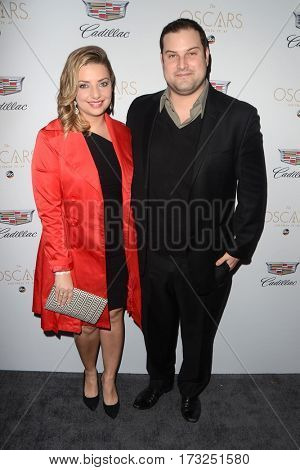 LOS ANGELES - FEB 23:  Guest, Max Adler at the Cadillac Hosts their Annual Oscar Week Soiree at the Chateau Marmont on February 23, 2017 in West Hollywood, CA