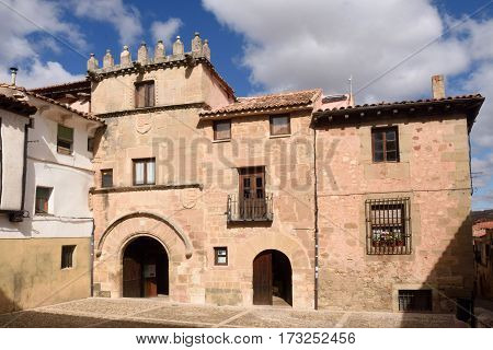 El Donzel house (XIV-XVIth Century) in Siguenza Guadalajara province Castilla La Mancha Spain.