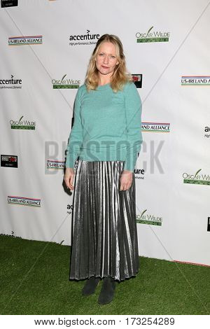 LOS ANGELES - FEB 23:  Paula Malcomson at the 12th Annual Oscar Wilde Awards at Bad Robot Studios on February 23, 2017 in Santa Monica, CA