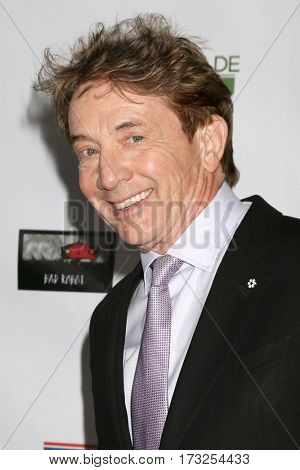 LOS ANGELES - FEB 23:  Martin Short at the 12th Annual Oscar Wilde Awards at Bad Robot Studios on February 23, 2017 in Santa Monica, CA