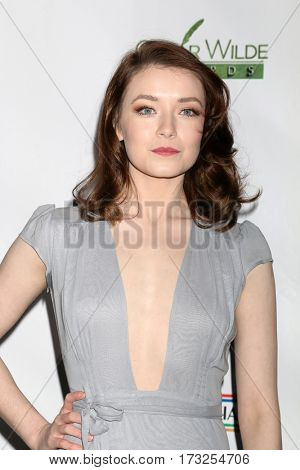LOS ANGELES - FEB 23:  Sarah Bolger at the 12th Annual Oscar Wilde Awards at Bad Robot Studios on February 23, 2017 in Santa Monica, CA
