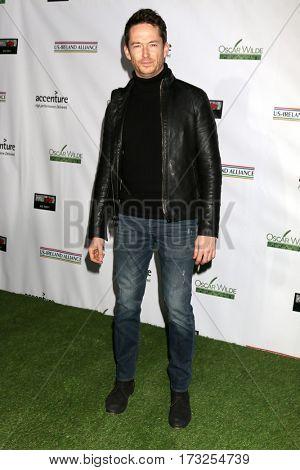 LOS ANGELES - FEB 23:  Simon Quarterman at the 12th Annual Oscar Wilde Awards at Bad Robot Studios on February 23, 2017 in Santa Monica, CA