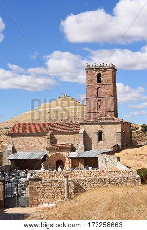 Santa Maria del Mar Church Guadalajara province Castilla La Mancha Spain.