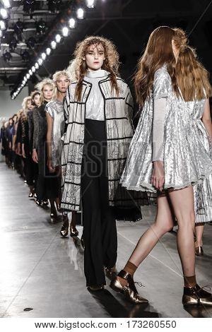 New York Fashion Week Fw 2017 - Katty Xiomara Collection