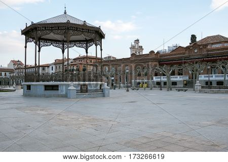 View Of The Music Box In The Cervantes Square