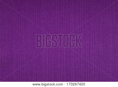 Purple Coarse Woven Fabric Background