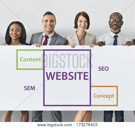 Website SEO Content Word Boxes