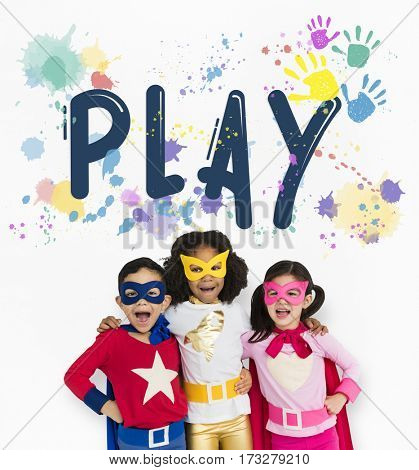 Play Colors Blots Hands Word