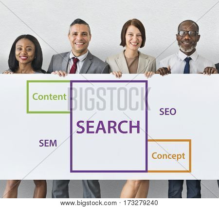Search SEO Content Word Boxes