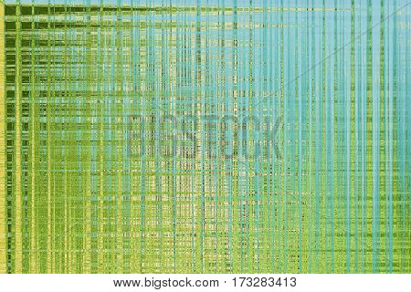 Abstract background in bright colors. Texture in a cool blue and green tones. Horizontal.