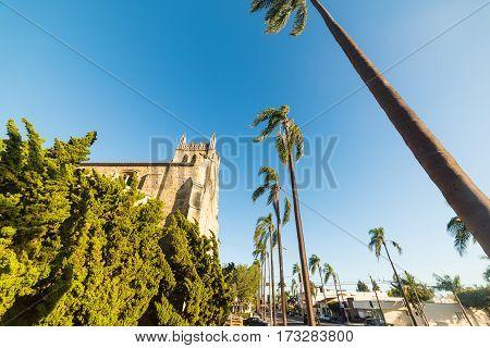 Santa Barbara's Trinity Episcopal Church in California