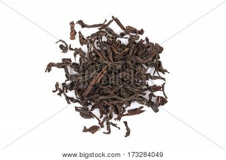 Black Tea Isolated On White