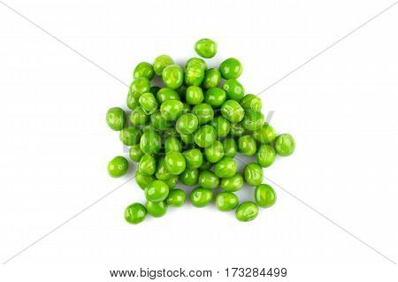 Pile Of Green Wet Pea