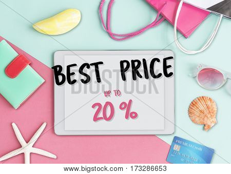 Best Sale Seasonal Offer Concept