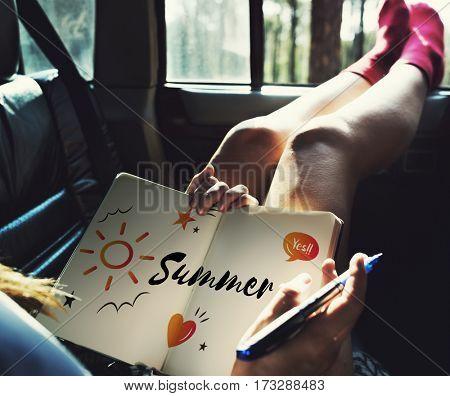 Summer Beach Break Season Holiday Travel