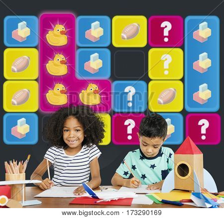 Duck Toy Bricks Rugby Secret Question Matching