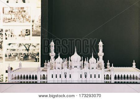 Kuala Lumpur, Malaysia - February 7, 2016: Model of Masjid Jamek mosque in Kuala Lumpur City Gallery