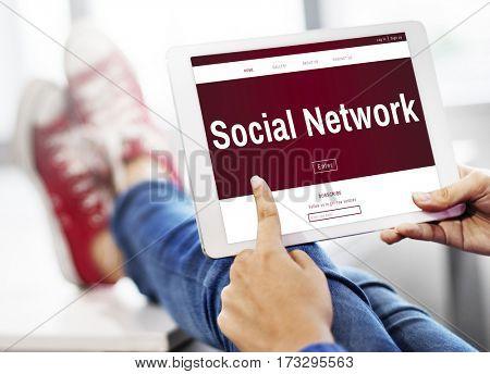 Social Platform Netwotrk Digital Life