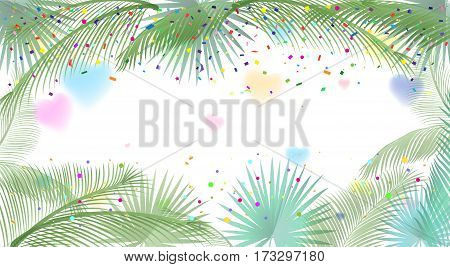 Abstract background for Brazilian Carnival, Music Festival, Masquerade poster, invitation design. Vector