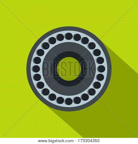 Bearing icon. Flat illustration of bearing vector icon for web