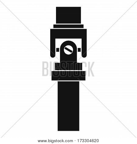 Mechanic detail icon. Simple illustration of mechanic detail vector icon for web