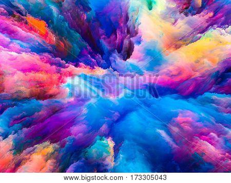 Elegance Of Surreal Paint