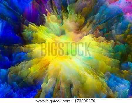 Exploding Surreal Paint