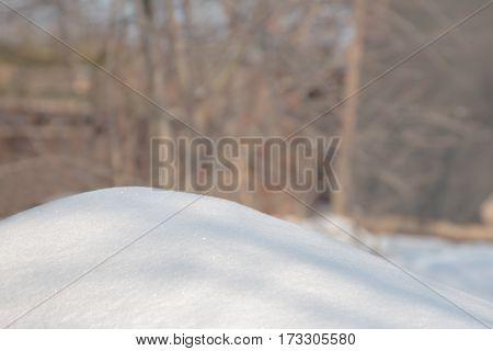 Snow Winter Background