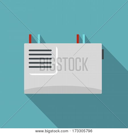 Wall router icon. Flat illustration of wall router vector icon for web