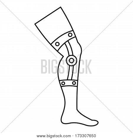 Retentive bandage icon. Outline illustration of retentive bandage vector icon for web