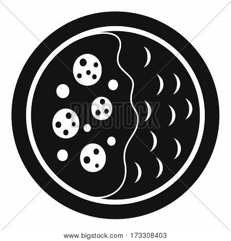 Asian soup icon. Simple illustration of asian soup vector icon for web