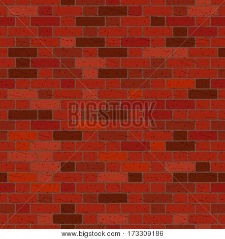 Old Bricks Wall Seamless Pattern