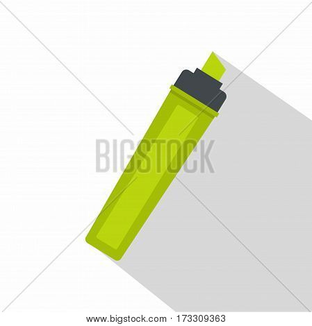 Marker icon. Flat illustration of marker vector icon for web