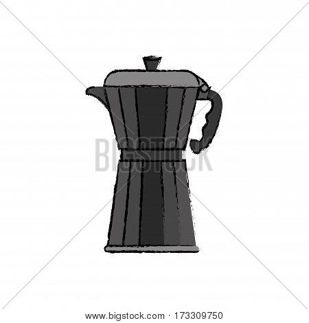 Coffee Kettle stainless icon vector illustration graphic design