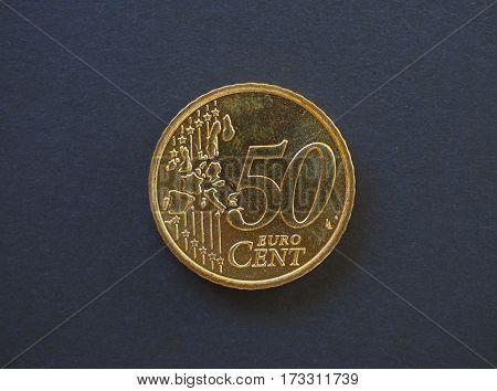 50 Cents Coin, European Union