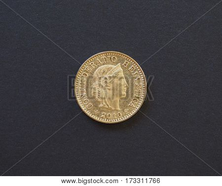 5 Cents Coin, Switzerland