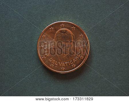 Pope Benedict Xvi 50 Cents Coin