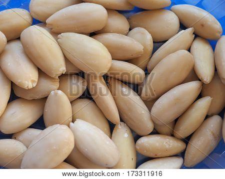Almonds Closeup Background