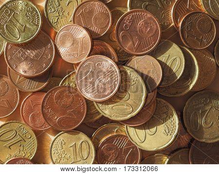 Euro Coins, European Union Background