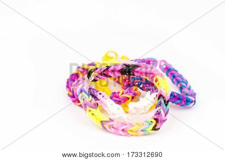Colorful Loom Rubber Bands