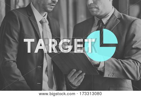 Business Marketing Planning Target Graph