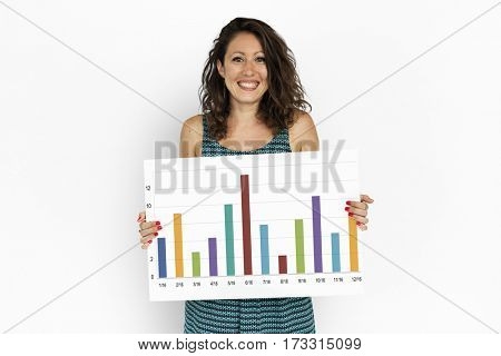 Business Chart Bar Graph Statistic Icon